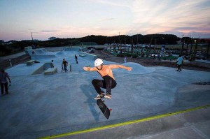 Skater in air - taken by SS