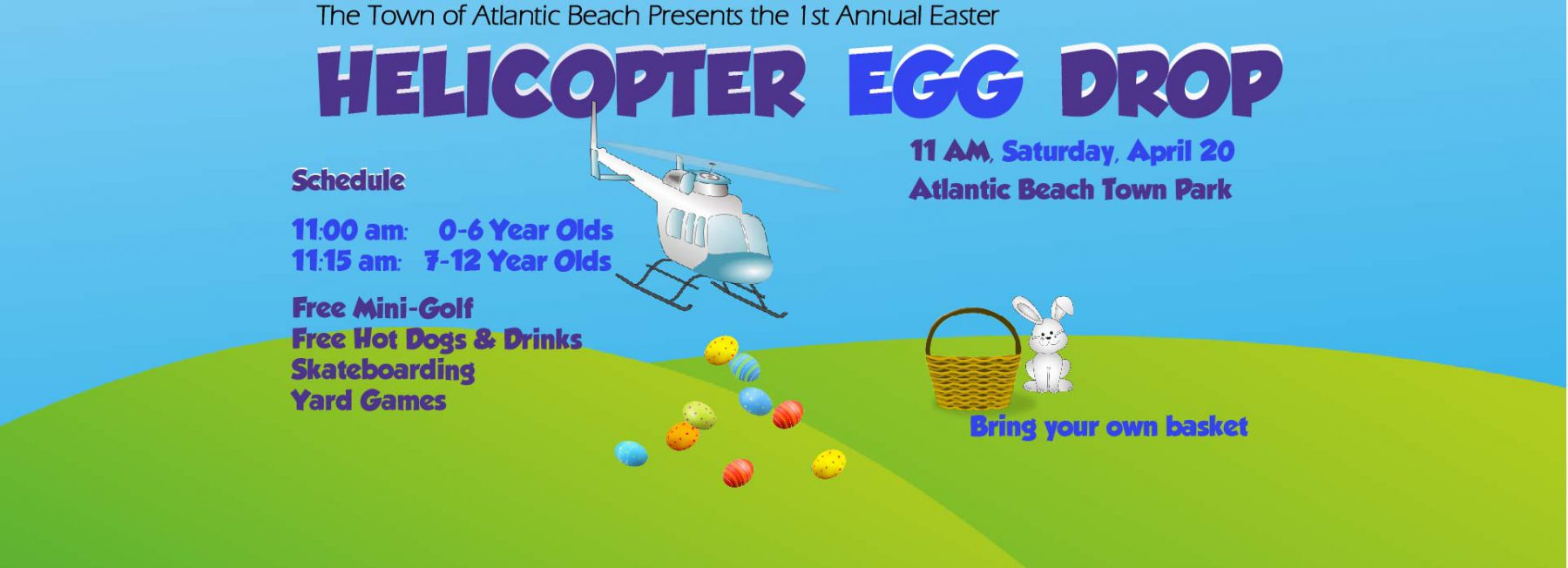 Easter Helicopter Egg Drop