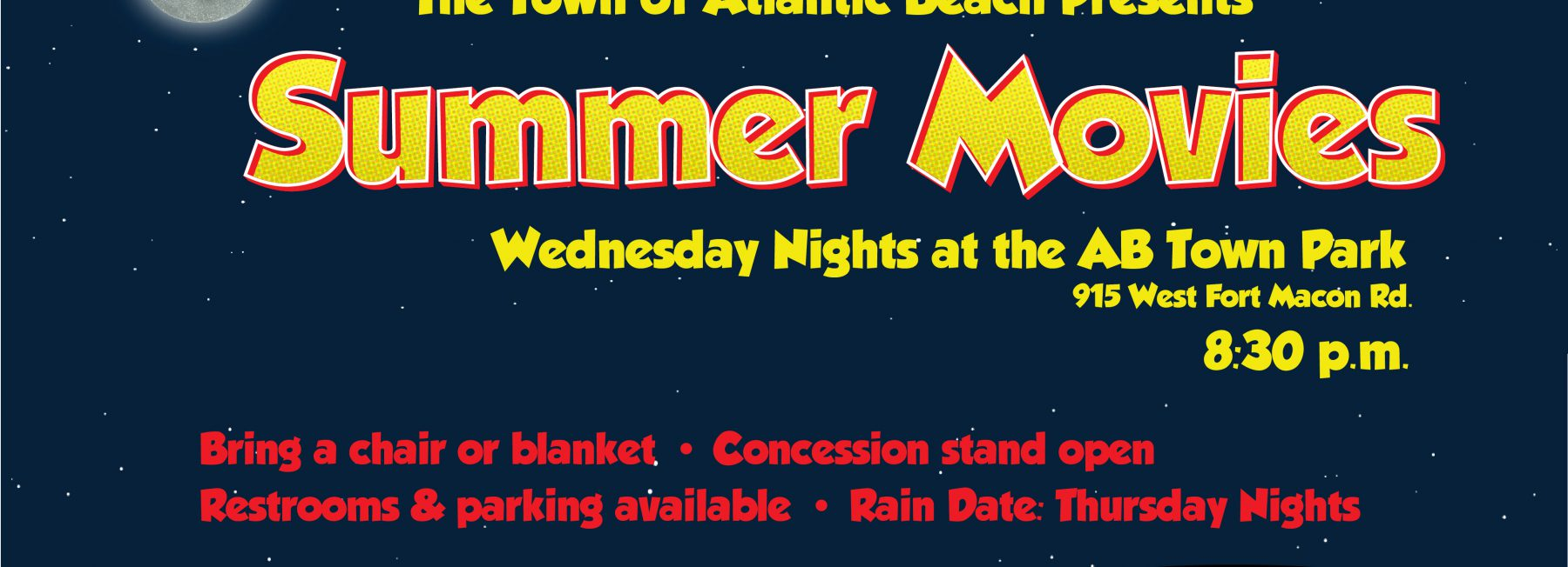 Summer Movies at the Town Park
